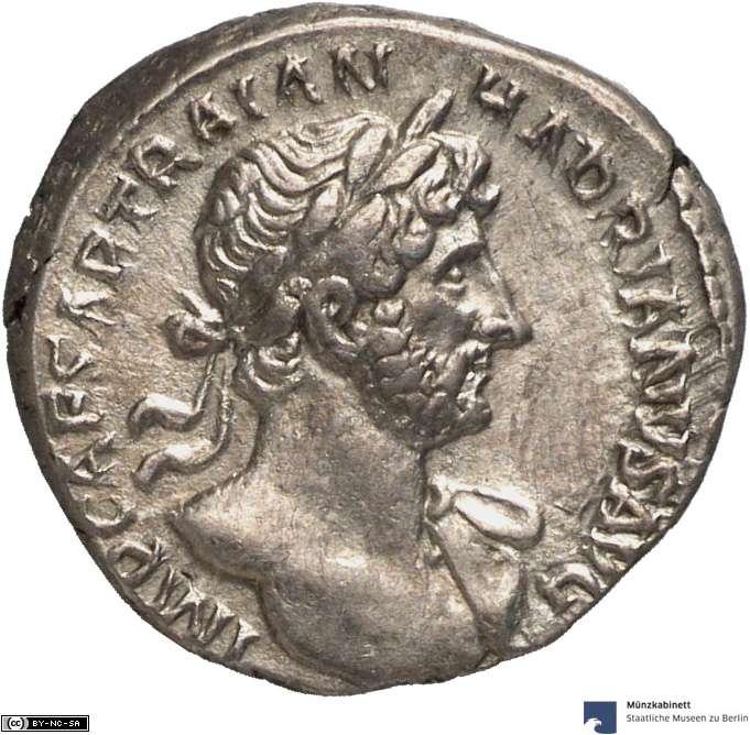 Denar des Hadrian
